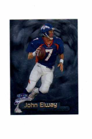 1998 Fleer Brilliants Complete Set 100 Cards Football NFL John Elway Brett Favre