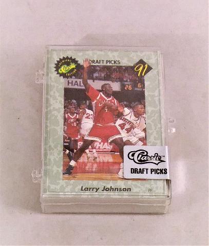 1991 Classic Premier Edition Complete Set Sealed Basketball Draft Picks w/ COA