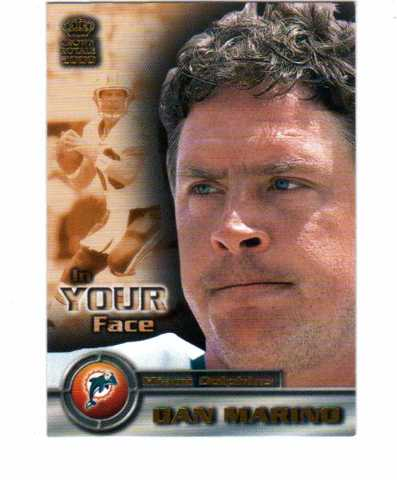 2000 Crown Royale In Your Face 25 Card Set Football NFL Marino Bledsoe Rice
