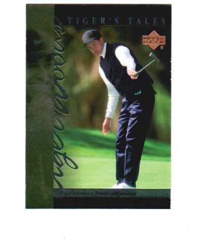 2001 Upper Deck Tiger's Tales 30 Card Complete Set Tiger Woods Golf