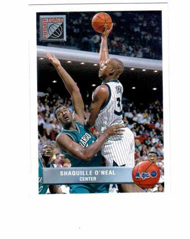1992-93 McDonald's Upper Deck Basketball Orlando Magic 10 Card Set Shaq