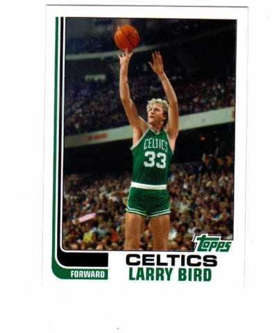 2006-07 Topps Larry Bird The Missing Years Set #LB82-LB91 Boston Celtics