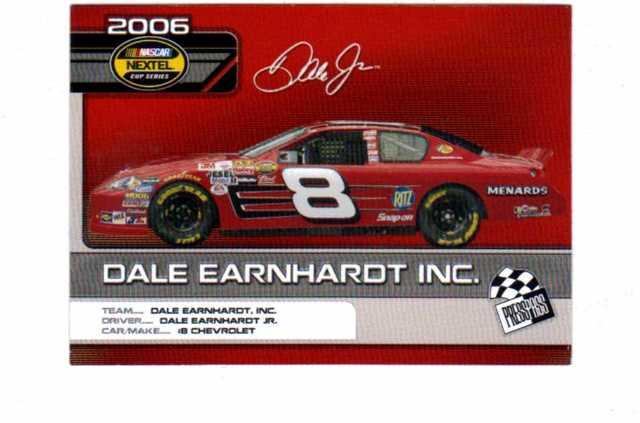 2006 Press Pass Top 25 Drivers & Rides 25 Card Set NASCAR Racing C1-C25