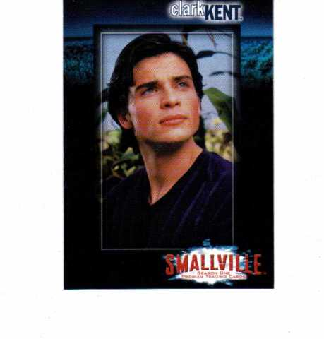 2002 Smallville Season One Complete 90 Card Set
