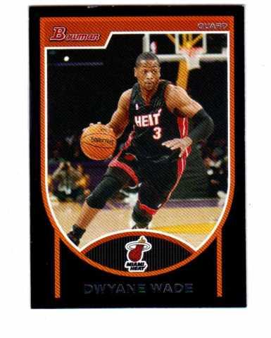 2007-08 Bowman Basketball 110 Card Set NBA Dwayne Wade Carmelo Anthony Yao Ming