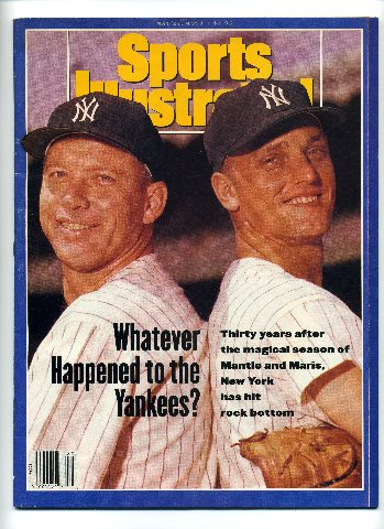 Sports Illustrated May 27 1991 Whatever Happened To NY Yankees Mantle Maris