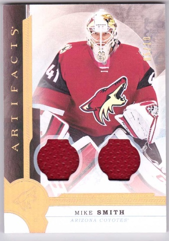 2016 Mike Smith Upper Deck Artifacts Relic