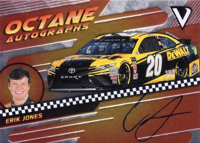 Erik Jones 2018 Panini Victory Lane Octane Autographs Auto /150