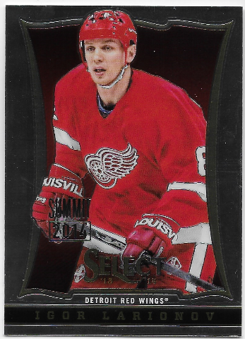 Igor Larionov 2013-14 Panini Select Industry Summit - First Print #1/5 Red Wings