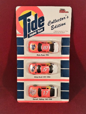 1993 Racing Champions Collector's Edition Tide Racing 3-Pack Waltrip Rudd NOC