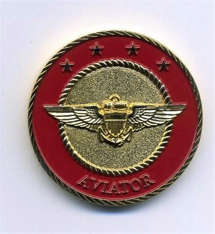 "US Marine Corps USMC Aviator Challenge Coin 1.5"""