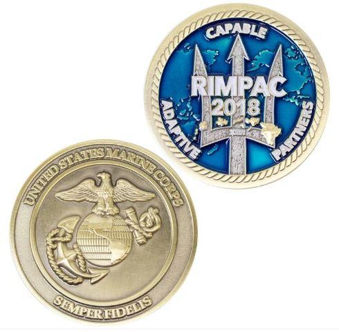 Vanguard 2018 USMC EGA RIMPAC COIN