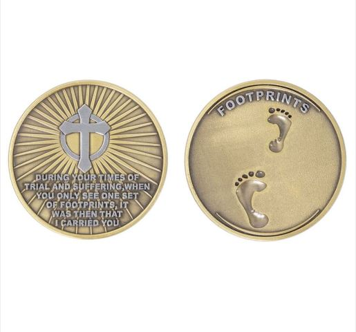 Vanguard COIN: FOOTPRINTS IN THE SAND 2""