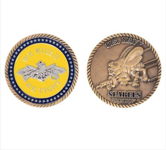"""Vanguard COIN: NAVY SEABEE ROUND 2"""""""