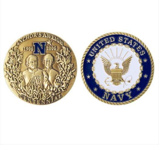 """Vanguard Navy COIN: ANCHORS AWEIGH CENTENNIAL 2"""""""