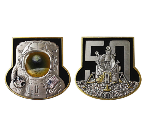 "Vanguard COIN 2"": NAVY APOLLO 11 MISSION 50th Anniversary Challenge Coin"