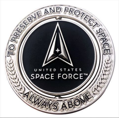 """Vanguard COIN 2"""" SPINNER: US SPACE FORCE"""