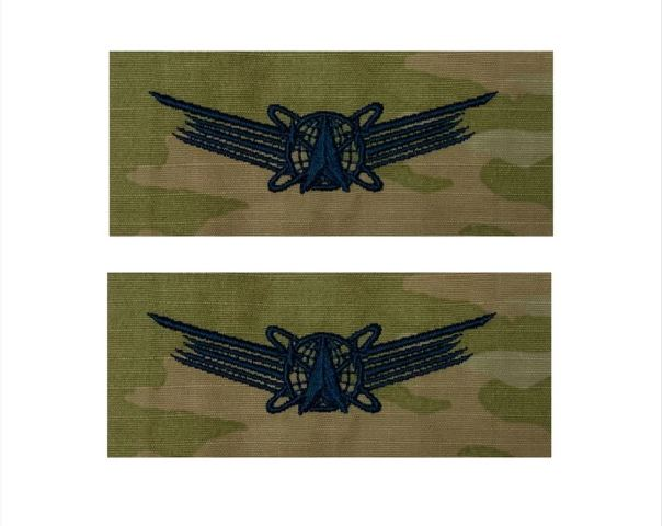 Vanguard SPACE FORCE EMBROIDERED BADGE: BASIC SPACE- OCP