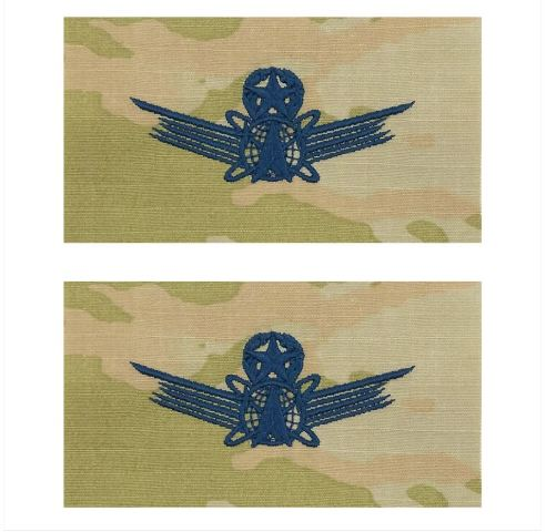 Vanguard SPACE FORCE EMBROIDERED BADGE: COMMAND SPACE- OCP