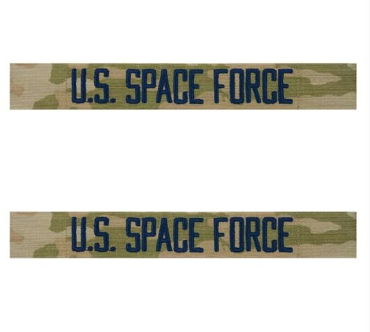 Vanguard SPACE FORCE TAPE: U.S. SPACE FORCE - EMBROIDERED ON OCP SEW ON