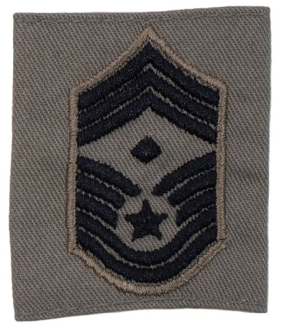Vanguard AIR FORCE EMBROIDERED RANK CHIEF MASTER SERGEANT 1ST SGT ABU GORTEX
