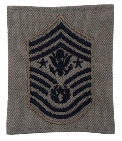 Vanguard AIR FORCE EMBROIDERED RANK CHIEF MASTER SERGEANT ABU GORTEX (each)