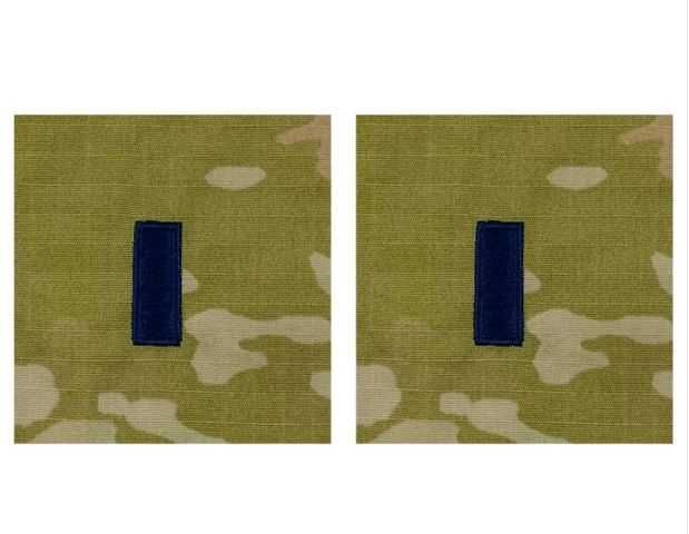 Vanguard SPACE FORCE EMBROIDERED OCP SEW OFFICER RANK INSIGNIA: FIRST LIEUTENANT