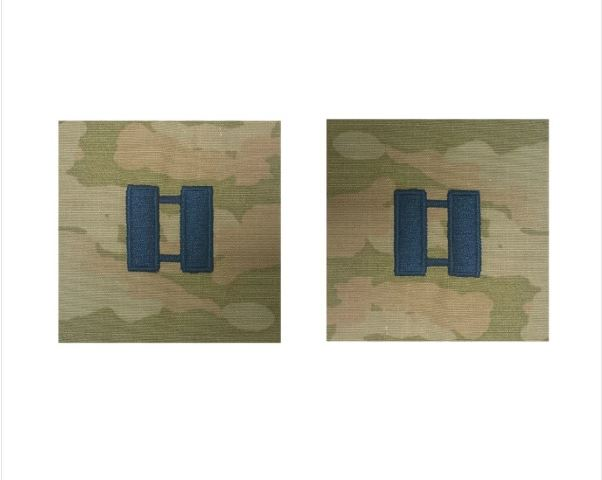 Vanguard SPACE FORCE EMBROIDERED OCP SEW ON OFFICER RANK INSIGNIA: CAPTAIN