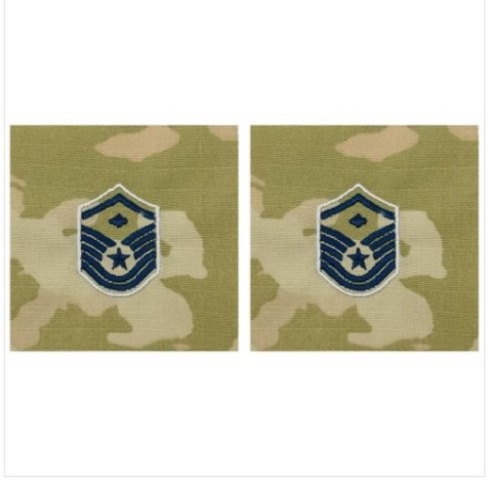 Vanguard SPACE FORCE EMBROIDERED RANK: MASTER SERGEANT WITH DIAMOND - OCP SEW ON