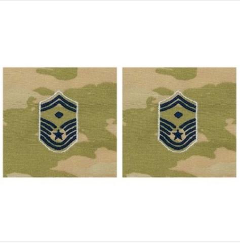 Vanguard SPACE FORCE EMBROIDERED RANK SENIOR MASTER SERGEANT DIAMOND OCP SEW ON
