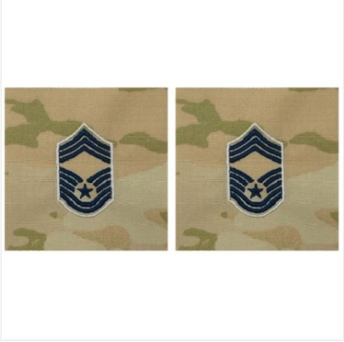 Vanguard SPACE FORCE EMBROIDERED RANK: CHIEF MASTER SERGEANT - OCP SEW ON