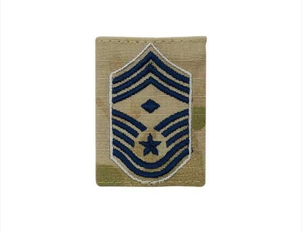 Vanguard SPACE FORCE GORTEX RANK: CHIEF MASTER SERGEANT DIAMOND OCP JACKET TAB