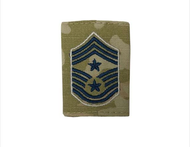 Vanguard SPACE FORCE GORTEX RANK: COMMAND CHIEF MASTER SERGEANT - OCP JACKET TAB