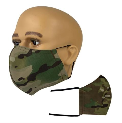 Vanguard OCP RIPSTOP FACE MASK WITH ADJUSTABLE LENGTH EAR LOOPS