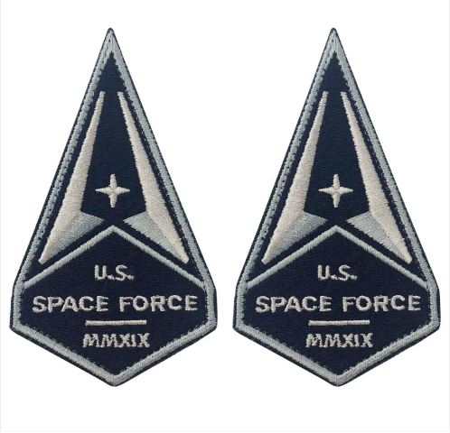 Vanguard U.S SPACE FORCE MMXIX PATCH WITH HOOK