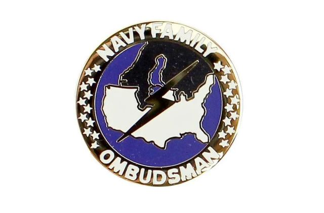 Vanguard NAVY LAPEL PIN: OMBUDSMAN