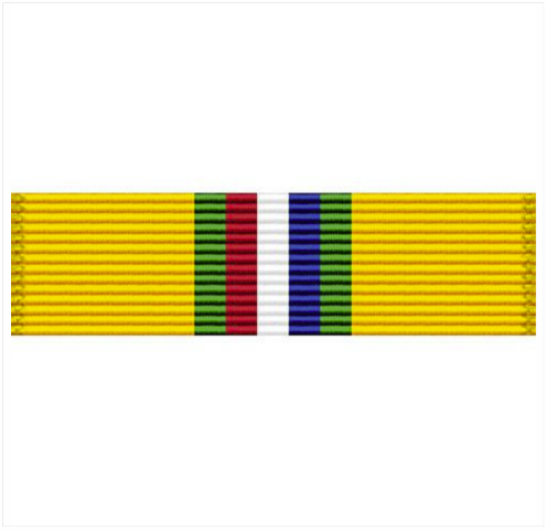 Vanguard RIBBON UNIT #3625: CALIFORNIA NATIONAL GUARD RECRUITING AWARD