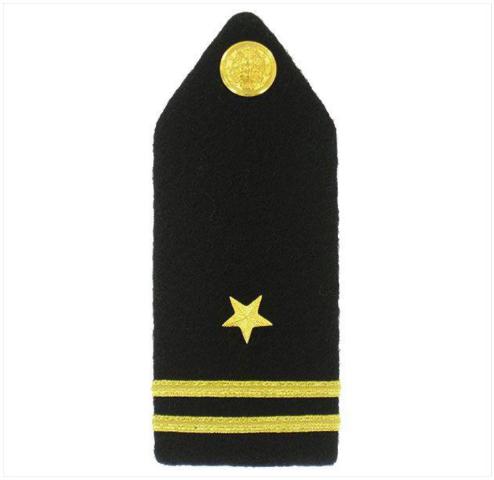 Vanguard NAVY ROTC MIDSHIPMAN HARD BOARD: FEMALE JUNIOR LIEUTENANT