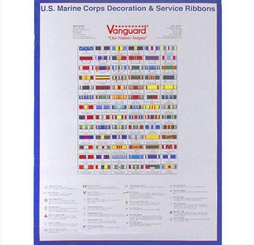 Vanguard POSTER: MARINE CORPS RIBBONS