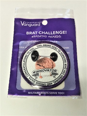 Vanguard Military Brat Patch #Innovator Award