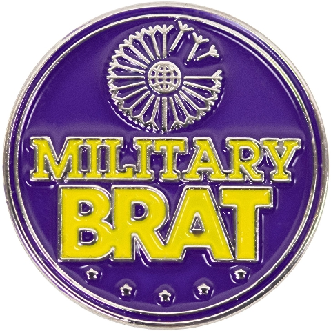 Vanguard Military Brat Lapel Pin