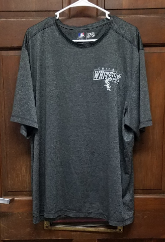 MLB Genuine Merchandise Charcoal Gray Chicago White Sox TX3 Cool T-Shirt Sz 2XL