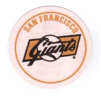 "2007 Topps Heritage Felt Logos #SFG 1958 San Francisco Giants 5"" Patch"