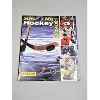 2008-2009 Panini NHL LNH Hockey Sticker Collection Album