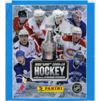 2009-2010 Panini NHL Hockey Sticker Collection Album & 8 Sticker Packets -Sealed