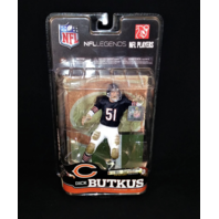 2010 Dick Butkus McFarlane NFL Legends Series 6 Chicago Bears Action Figure NIP