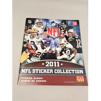 2011 Panini NFL Football Sticker Collection Album