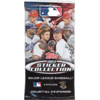2013 Sticker Collection Topps Baseball 13 Sticker Packs (Sealed)