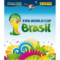 2014 Panini FIFA World Cup Brasil Soccer Stickers Album (Futbal) (Brazil)
