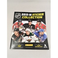 2015-2016 Panini NHL Hockey 72 Page Sticker Collection Album